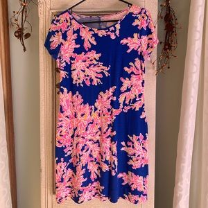 Lilly Pulitzer Marlowe dress it's electric